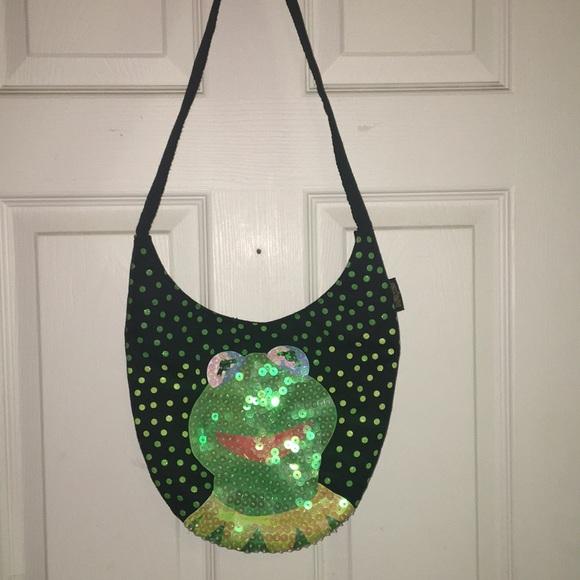 Muppets Handbags - muppets brand kermit shoulder bag